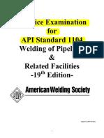 API 1104      Q&A+++