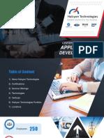 Custom Software Development Company - halcyon Technologies