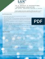 LSAA Job Poster Advert Guest Experience Executive 07.01.2020.Jpg.pptx (1)