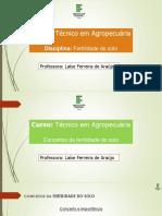 Conceitos da fertilidade do solo