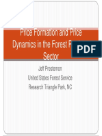 Forestry economics in the US