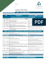 Agenda CEID VII Congreso Medio Ambiente 2014