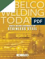 Kobelco welding special stainless steel single