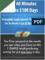 60 Minutes to 100dollar days.pdf