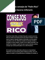 34. Los Mejores Consejos de Padre Rico - Rich Dad @cienciafinanciera