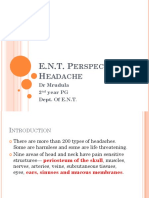Headache-An ENT problem