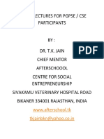Online Lectures for Free Online PGPSE and CSE and MBA Programmes for Entrepreneurs 5