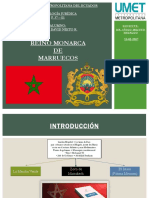 Reino Monarca de Marruecos (Historia y Cultura).