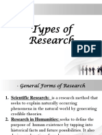 Lesson 2-Types of Research