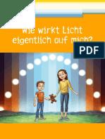 """Mini-Buch """"Wie wirkt Licht eigentlich auf mich?"""""""