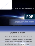 Bioética y Bioseguridad
