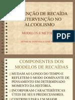 Modelos de Prevencao de recaidas sobre alcoolismo
