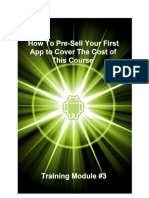 How To Pre-Sell Your First App to Cover The Cost of This Course