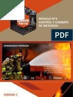 Modulo N°4- Control y Combate de Incendios
