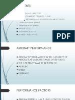 AIRCRAFT PERFORMAN