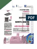2016 05-9-13 Pompei ArchaeoGeoph School Programme Rev