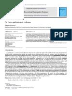 (2010)On theta-palindromic richness