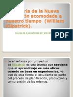 Claves de la enseñanza por proyectos de Kilpatrick