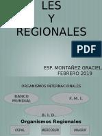 2019 Organismos internacionales y Regionales   (1)