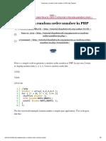 Generate a random order number in PHP _ My Tutorial