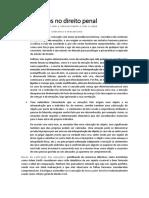 Direito Penal III - relevância das emoções no Direito Penal