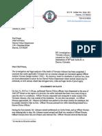 Trevante Johnson Officer-Involved Shooting Decision Letter