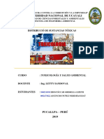 Desastres Toxicologicos en El Perú