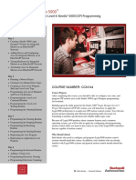 CCN144  Studio 5000 Logix Designer Level 4 Kinetix 6500 (CIP) Programming