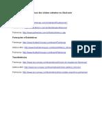 Geral - Informações e estatísticas dos clubes cobertos no Go.doc
