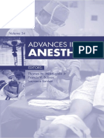 Advances in Anesthesia