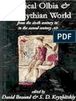 David Braund, S D Kryzhitskiy - Classical Olbia and the Scythian World_ From the Sixth Century BC to the Second Century AD (2008).pdf
