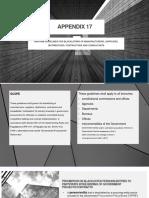 APPENDIX 17 SPECSss