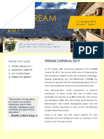 STREAM CARNIVAL NEWSLETTER a
