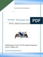 TP MDF N 2 - Etude Du Centre de Poussee