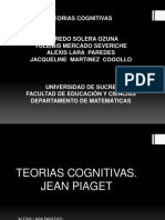 TEORIAS COGNITIVAS-Piaget