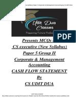 MCQ - CASH FLOW STATEMENTS-converted