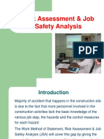 HSE-BMS-006 Risk Assessment & JSA