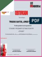 CURSO DE CAPACITACION - 1