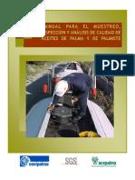 Manual para el muestreo, inspección y análisis de calidad de los aceites de palma y palmiste
