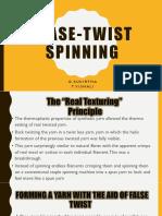 FLASE-TWIST SPINNING