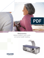 Caracteristicas HOLOGIC DXA Discovery