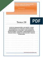 _Tema 28T - Actos de comunicación a las partes.pdf