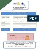 Programa Rotary t Vedras Janeiro 2020
