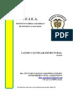 LAUDO CAUTELAR ESTRUTURAL - ARC x VILA SUL