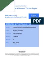 E-500399 Doc Pkg Vol II - O&M Manual (Rev 0)
