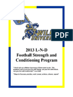 2013 Football Manual Wilks