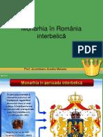 Monarhia în România  interbelică