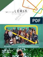 Brochure - Galleria on the Park 2 Condos