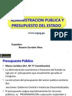 ADMINISTRACION-PUBLICA-Y-PRESP-DEL-ESTADO-MAYO-2016-Tutoria- (3).ppt