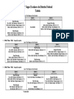 Tabela - Quadro Geral